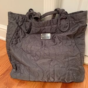Gray Marc by Marc Jacobs Large Nylon Tote
